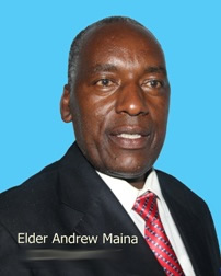 Elder Adrew Maina